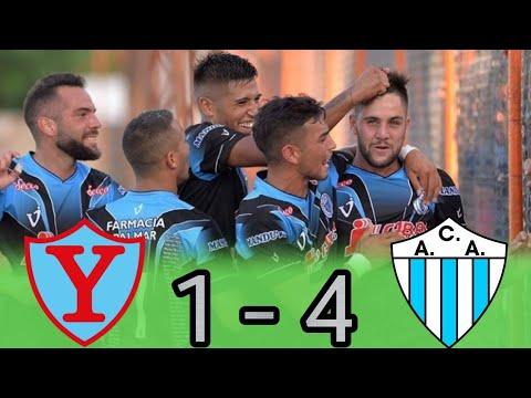 Primera D : YUPANQUI 1 - 4 ARGENTINO DE MERLO (Los Goles)