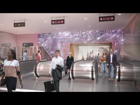 Konsten på Gula linjens stationer