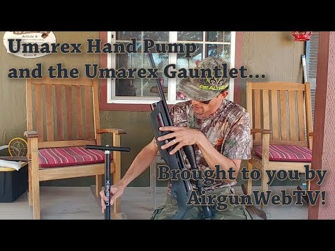 Ben Takes On The Umarex Hand Pump And The Umarex Gauntlet Can He Do It