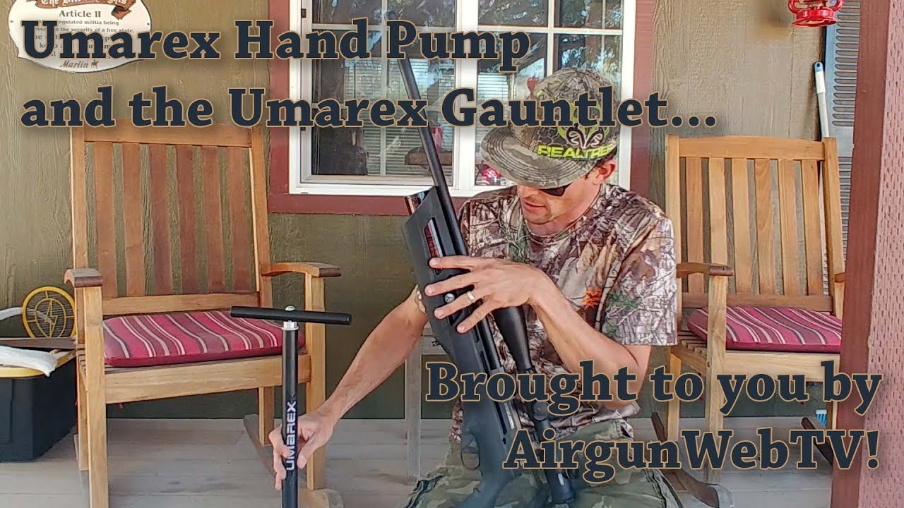 Ben takes on the Umarex Hand pump and the Umarex Gauntlet   Can he do it???