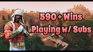 Galaxy Skin Gameplay | Solo Grind + Playing with Subs | Fortnite PS4 Livestream with Facecam
