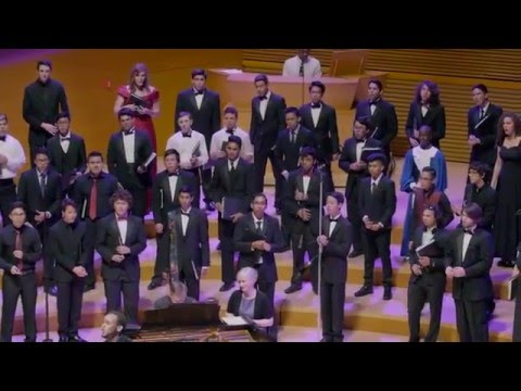 1,000 Students sing Purple Rain at Walt Disney Concert Hall
