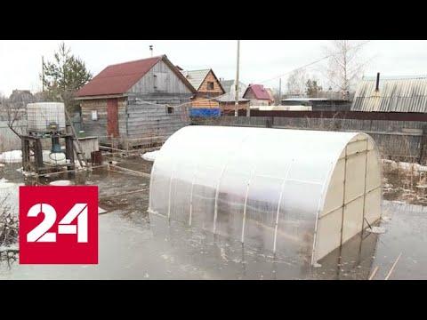 Запастись продуктами и лодками: остров Краснофлотский в Архангельской области уходит под воду
