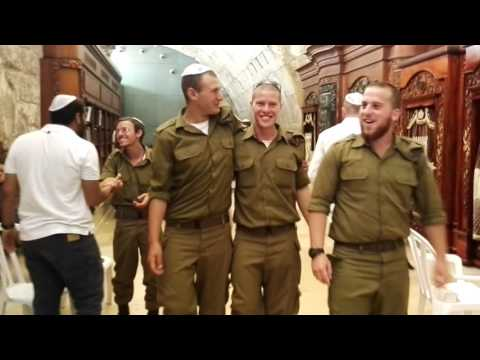 A tour of the hidden places of the Western Wall (Wailing Wall), Jerusalem, Israel
