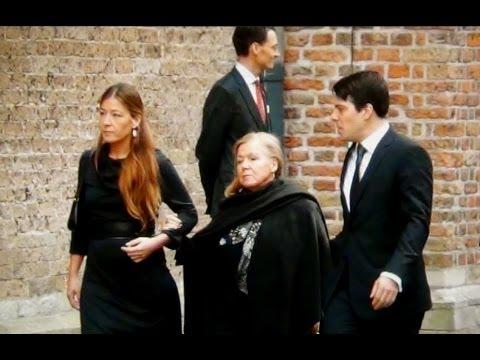 Prinses Christina (70 jaar) in Delft bij herdenking Prins Friso