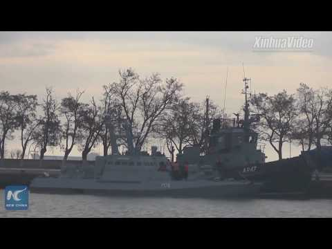 Russia-Ukraine tensions escalate amid Kerch Strait standoff