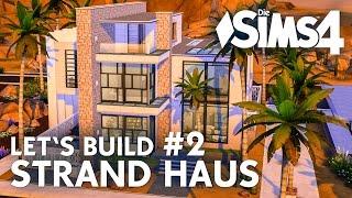Die Sims 4 Let's Build Strandhaus #2 | Haus bauen (deutsch)(Die Sims 4 Bau-Video mit einem modernen Strandhaus für eine Familie im kommentierten Schnelldurchlauf (Speed Build) - Teil 2: Die Küche, das Wohnzimmer, ..., 2016-04-29T14:18:26.000Z)