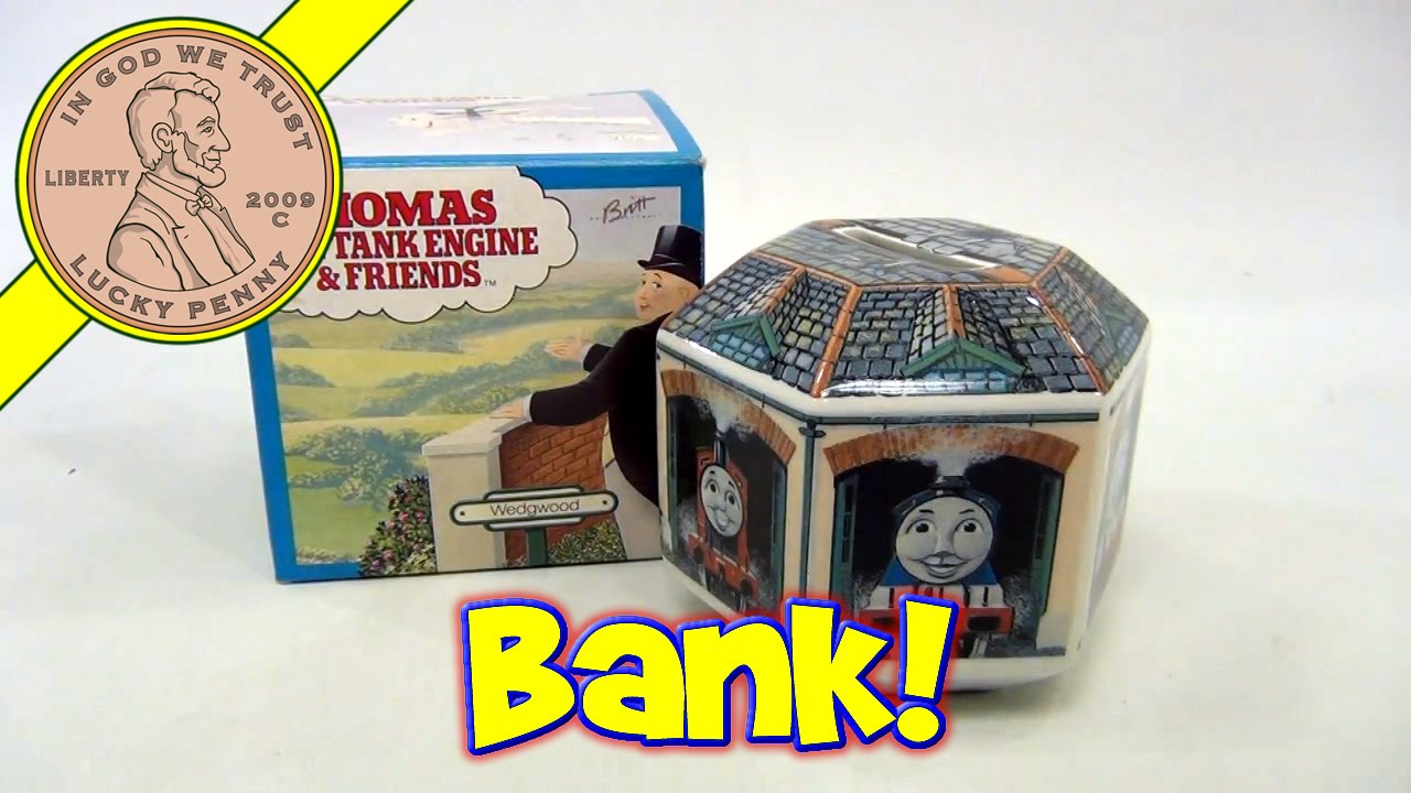 Ceramic Wedgwood Thomas The Tank Engine And Friends Money