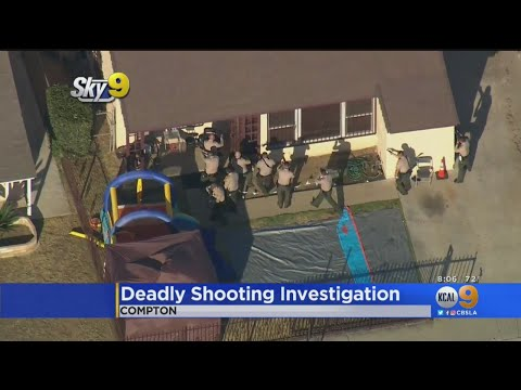 Deadly Shooting At Compton Home