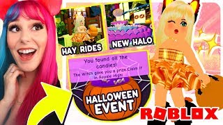 ROYALE HIGH NEW FALL UPDATE + NEW EVENT! Roblox Royale High Brand New Halloween Update
