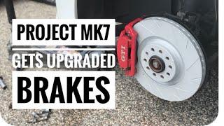 Upgrading Brakes on my VW MK7 GTI