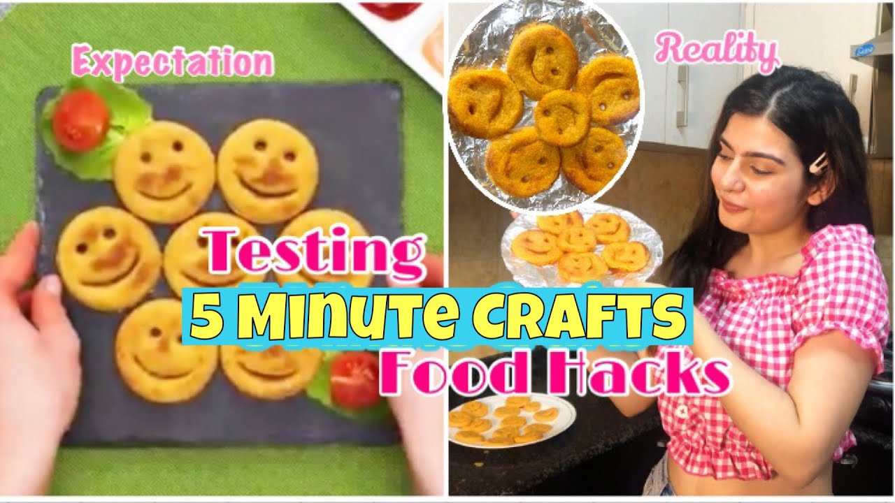 Trying Out Viral Recipes / Food Hacks from 5 Minute crafts | Yashita Rai