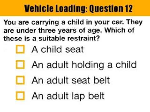 Driving theory test sample questions abu dhabi