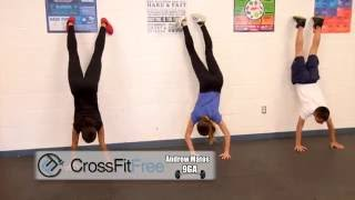 CrossFit Free Pro, Brandon Petersen visits 9GA