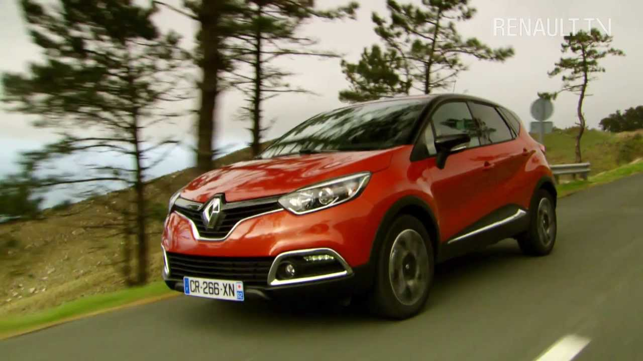 regardez l 39 essai du renault captur dans la r gion de biarritz avec renault tv youtube. Black Bedroom Furniture Sets. Home Design Ideas