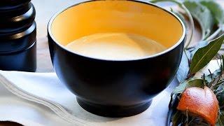 Sauce mousseline orange sanguine