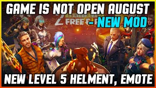 Free Fire New Update 14th August - Game is Not Open- Garena Free Fire