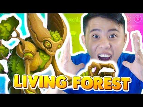 Monster Legends: Living Forest level 1 to 100 - Combat
