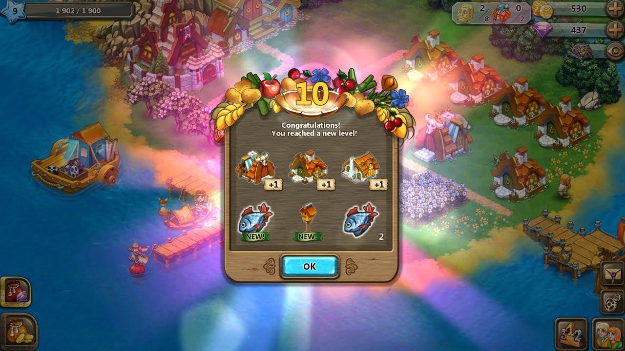Playthrough Level 10 - Harvest Land Video Walkthroughs for