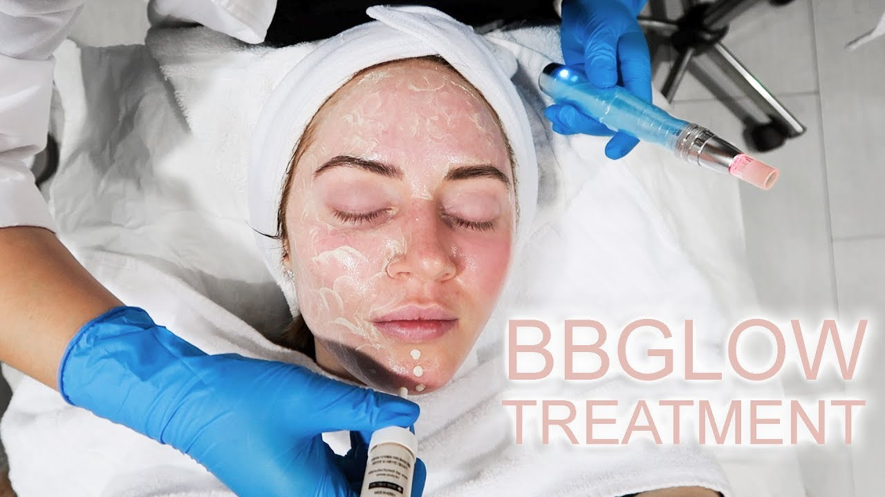 Getting A BB Glow Facial Treatment