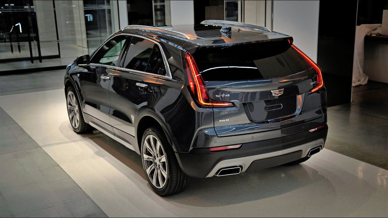 2019 CADILLAC XT4 Exterior and Interior - YouTube