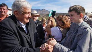 Diálogo con la comunidad de la Sierra Alta de Sonora, desde Bavispe, Sonora.