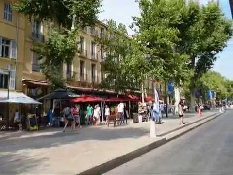 Aix-en-Provence, la vieille ville by Lionel Ley
