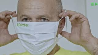 Bezpieczeństwo w firmie podczas Covid-19: noszenie maseczki