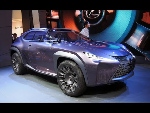 Lexus UX Concept First Look - 2016 Paris Motor Show