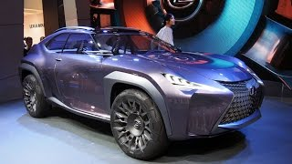 Lexus UX Concept First Look - 2016 Paris Motor Show