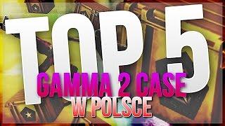 TOP 5 GAMMA 2 CASE W POLSCE - REAKCJE! [CS:GO] w/ Izak, Nitro, Miszczu