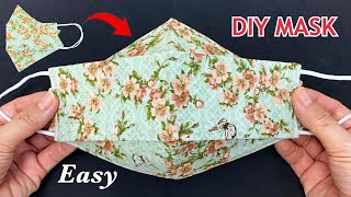 New Style 3D Cute Mask DIY Face Mask Easy Pattern Sewing Tutorial Breathable Mask Making Ideas