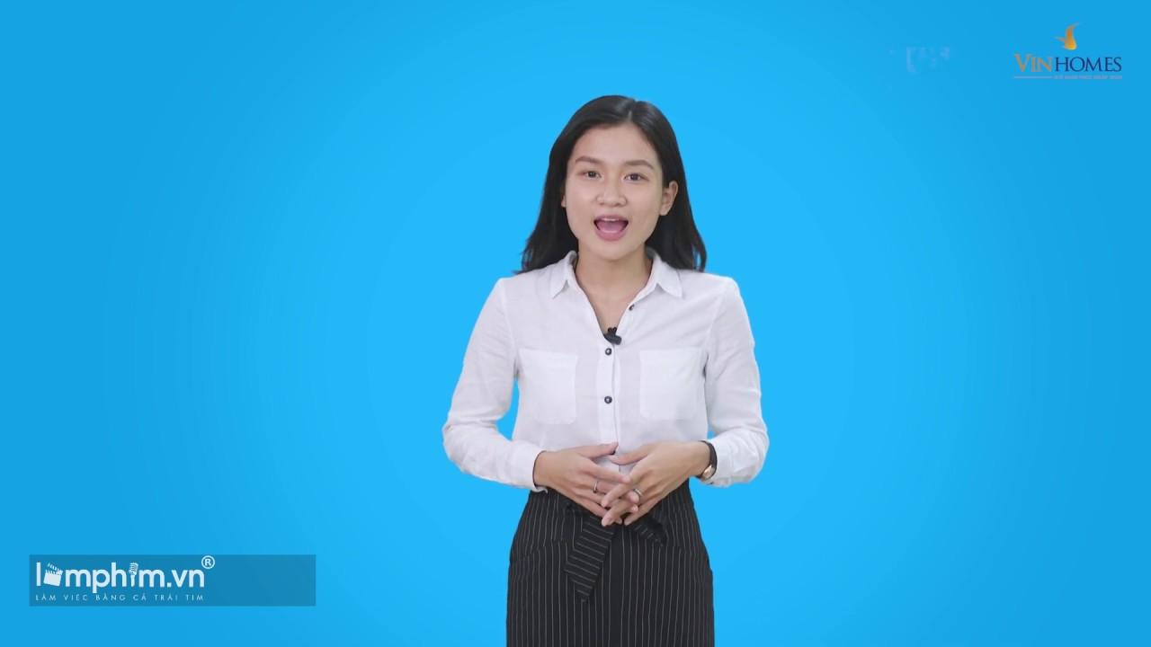QUAY VIDEO BÀI GIẢNG VINHOMES