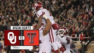 No. 7 Oklahoma vs. Texas Tech Football Highlights (2018) | Stadium