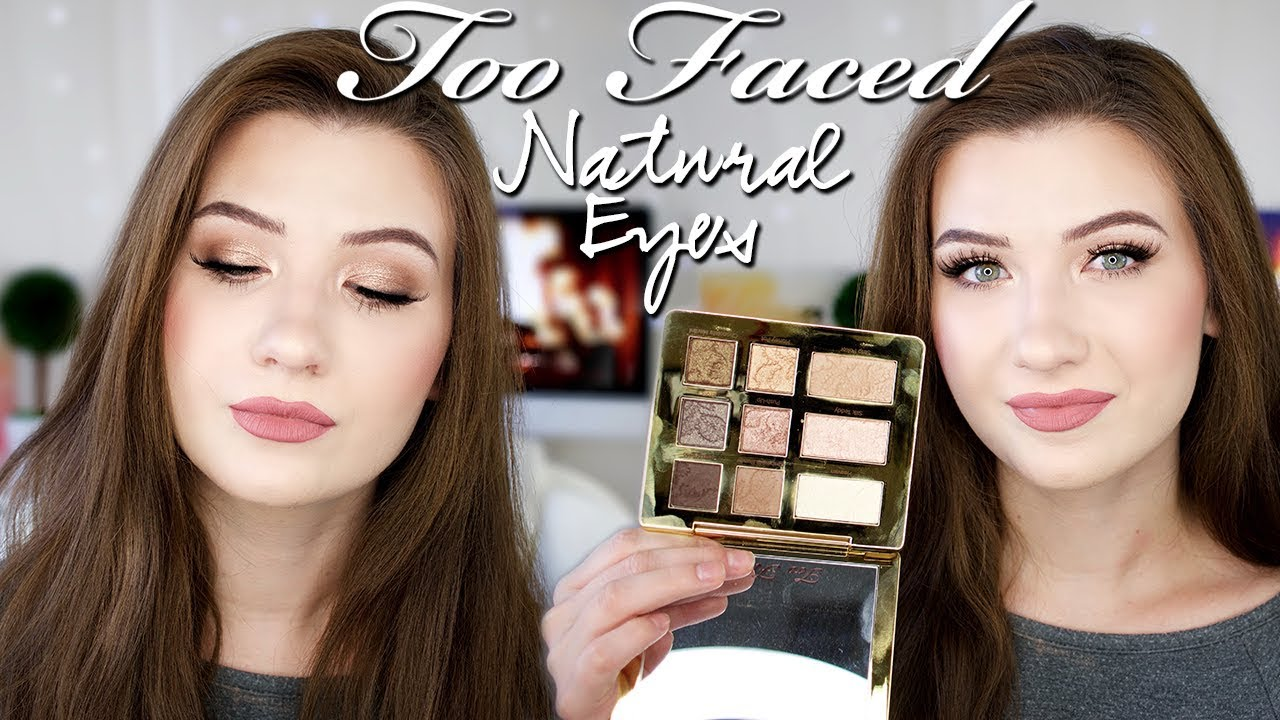 Too Faced Natural Eyes Eyeshadow Palette Review Swatches