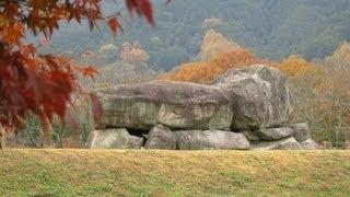 2012年12月1日(土)は奈良県明日香村へ。 紅葉の明日香村。石舞台古墳→...