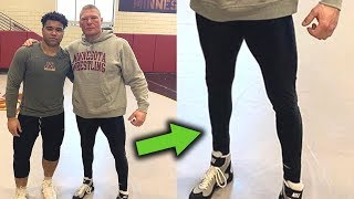 What's Wrong with Brock Lesnar's Legs? 10 Surprising Things on WWE Superstars Don't Want You to Know