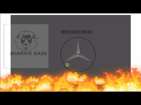 How to Draw | Mercedes-Benz logo | Corel DRaw