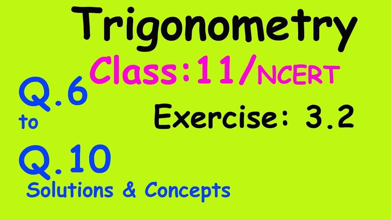 trigonometry worked solutions Trigonometric equations can be solved using the algebraic methods and trigonometric identities and values discussed in earlier sections you may wish to go back and have a look at trigonometric functions of any angle, where we see the background to the following solutions you can use this online.