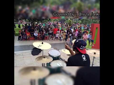 Steven Coconuttreez - Enggan ( Drum cover by Reza Funk ) Tasikmalaya