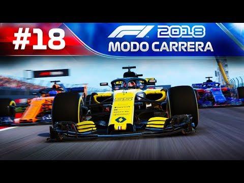 SAINZ V ALONSO V SEVI- F1 2018 MODO TRAYECTORIA #18 - Toro Rosso Honda