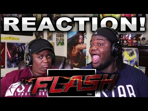The Flash Season 4 Extended trailer : REACTION WITH MOM!!
