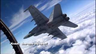 F18 Hornet Training footage.