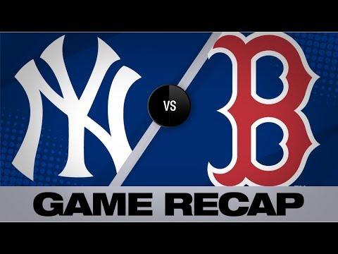 Sanchez, Encarnacion back Happ's start in win | Yankees-Red Sox Game Highlights 9/7/19