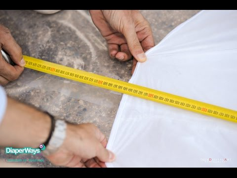 Guinness World Record - Measurement Of The Biggest Baby Diaper By Diaperways