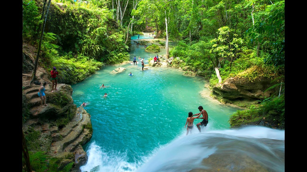 MUST SEE WATERFALLS IN JAMAICA PART 1 - Travel Guide Video ...