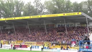 4000 Fans von Dynamo Dresden sorgen in Großaspach für überragende Stimmung
