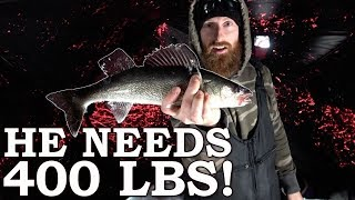 He NEEDS 400 lbs of FISH to Live! | 'The Man Who ONLY Eats WILD FOOD'