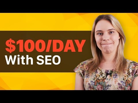 TUTORIAL: How To Make $100 a Day with FREE SEO Traffic & A Shopify Store