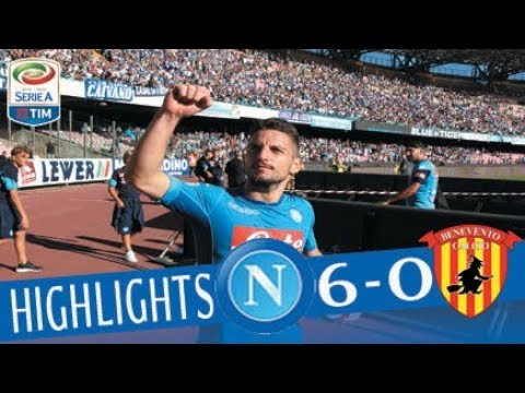 Napoli - Benevento - 6-0 - Highlights - Giornata 4 - Serie A TIM 2017/18